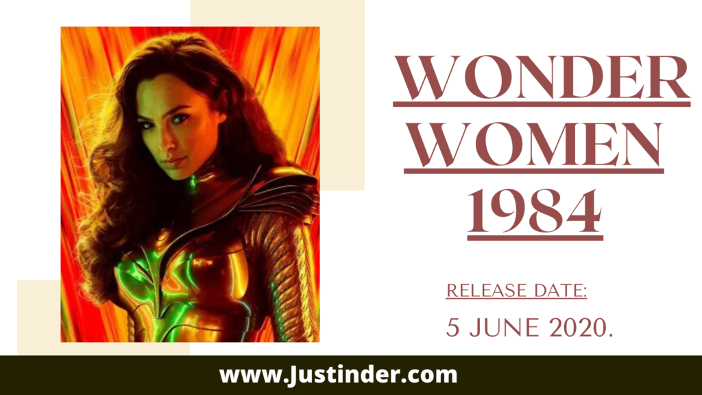 Wonder Woman 1984 Release date