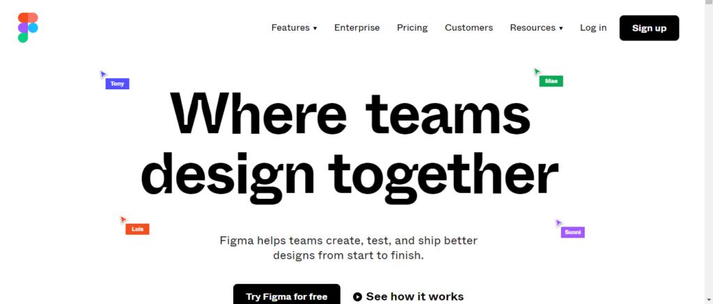 Figma,Best professional web design software