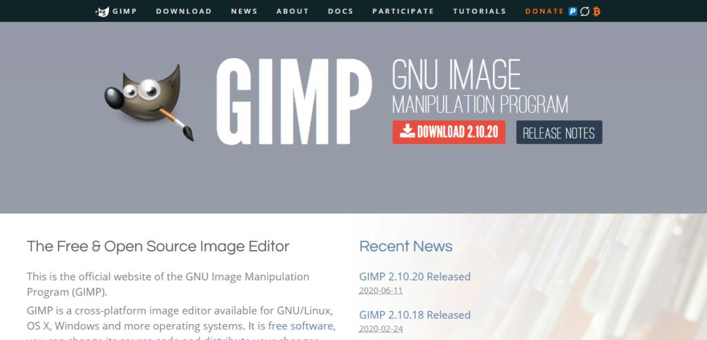 GIMP,Best Professional Web Design Software,Justinder